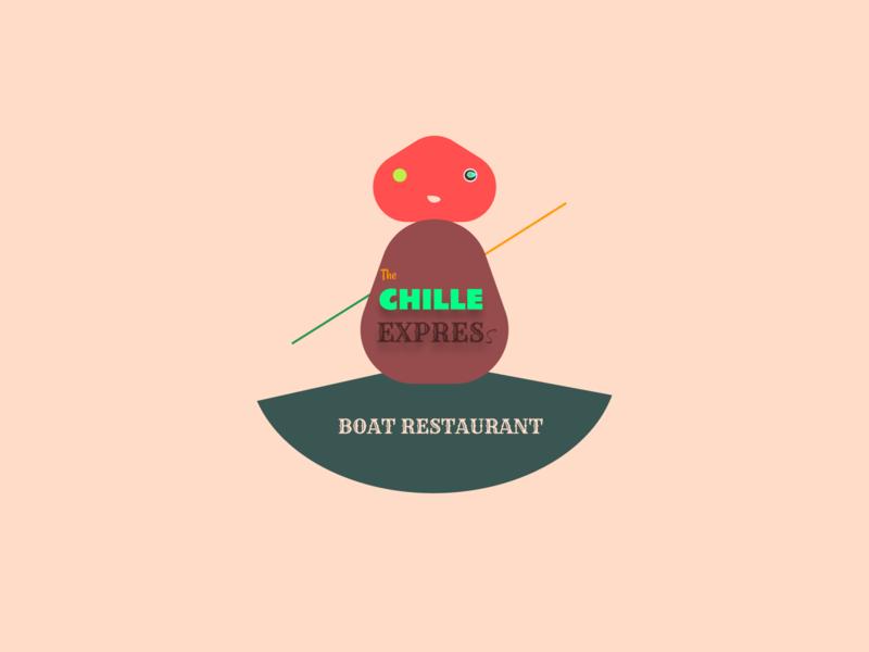 Boat Restaurant Logo icon creativity illustration logo hotel character typography restaurant branding branding minimal design boat logo restaurant boat