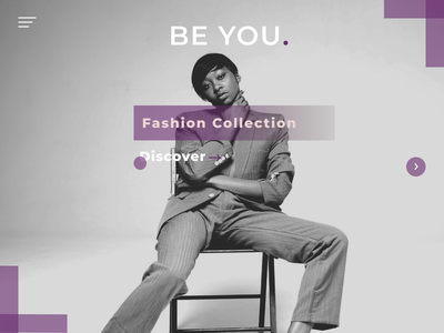 Fashion web app design concept minimal flat website ui web minimalist design figma