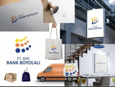 Branding Concept Bank Boyolali coreldraw branding minimalism simple logo logo design branding concept branding and identity