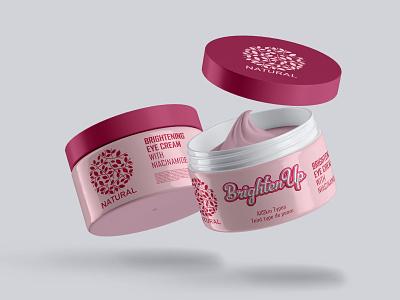 Eye Cream Skincare Label Design pouch label mens care food label healthy food label cosmetics label design design templates amazon packaging design