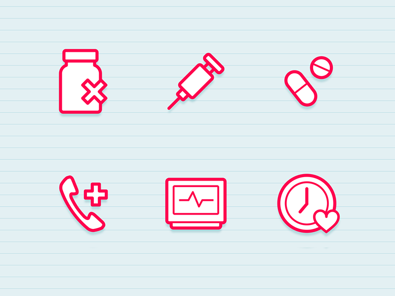 Health Icons health medical icons vector free