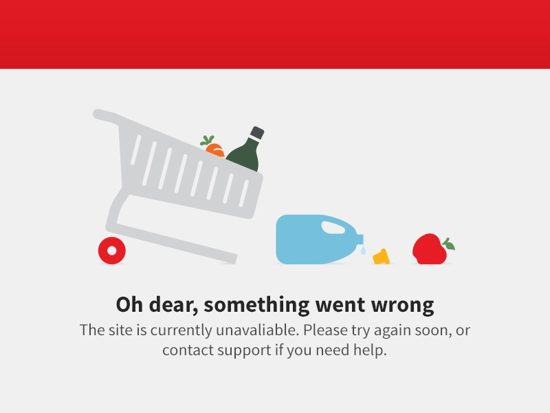 404 page fun 404 error vector illustration shopping trolley