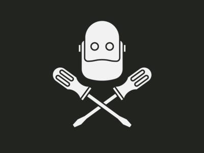Bishop the robot logo