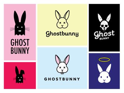 Ghost Bunny logo options
