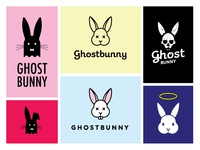 Ghost Bunny logo options