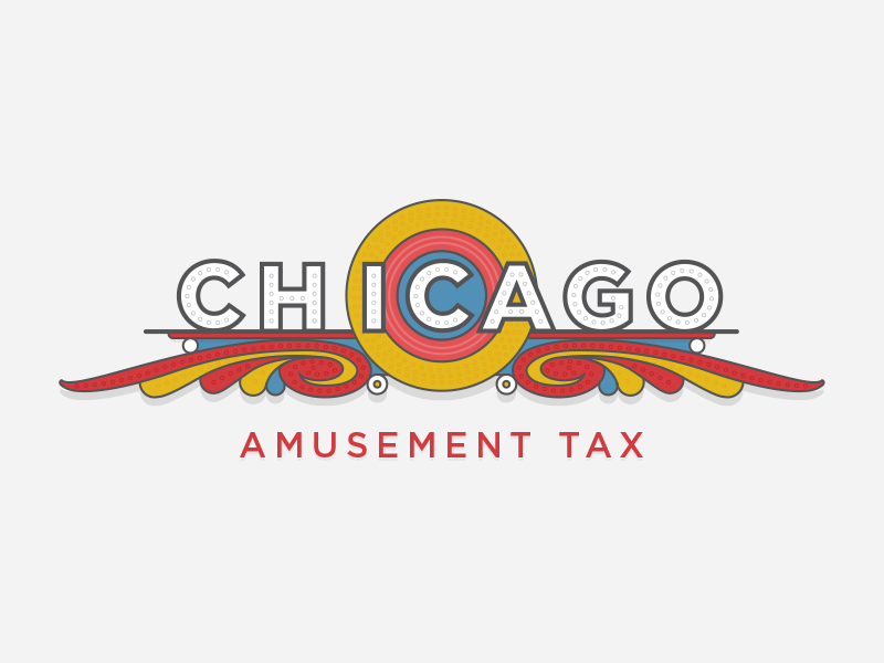 Chicago Amusement Tax art deco illustration recurly amusement tax theater chicago