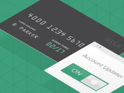Isometric Credit Card