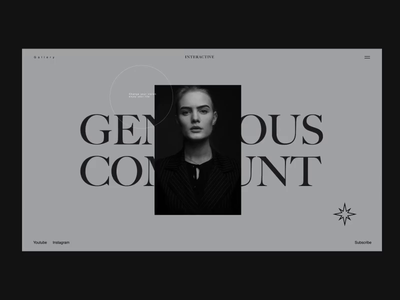 Interactive logo icon app aftereffect concept black vector colors web typography slide pic art interface designe interaction picture ux ui design