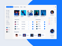 Desktop Music App