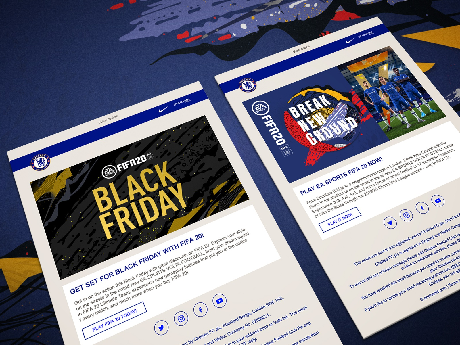Fifa 20 Chelsea Emails By Karl Tongue On Dribbble