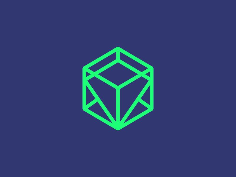 Operator of National Crowdfunding Platform crowdfunding block chain design logo branding identity clear