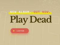 Play Dead and click the button.