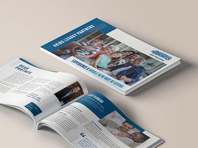 Brochures For Kids —— Print Ain't DED. magazine design print design brochure design brand branding design