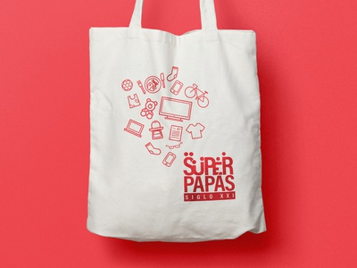 Tote Bags are cool, right? graphic design collateral design branding designer branding design branding agency tote bag branding design