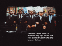 MLK gets two posts—of course.