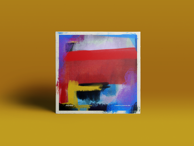 """A playlist called """"moves"""" music design graphic design abstract painting musical art music artwork playlist"""