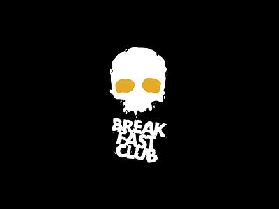 Breakfast Doodles procreate breakfast skull eggs drawing typography illustration design