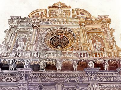 Lecce lecce facade architect architecture church detail beige