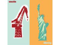 Carola vs Liberty. Bilbao vs New York