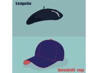 txapela vs baseball cap