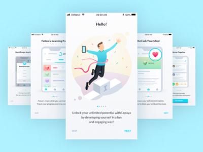 Learning App - Onboarding Slides