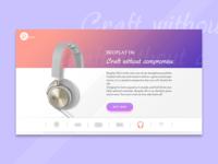 Daily UI #003- Landing Page