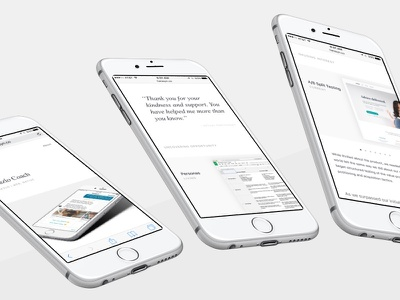 Portfolio - Case Study css flexbox responsive content white typography simple clean portfolio