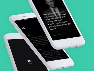 The Top 5 exploration black and white mobile touch carousel personal goals