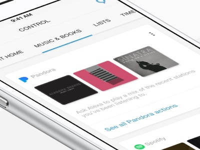 Alexa Media Services iot lists music prototype alexa