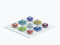 Lego Illustration - API Piece