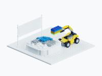 Lego Illustration - DIY Piece