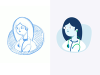Call to a Doctor - Icon Process Animation
