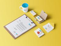 Studio Identity — Stationery and Logo