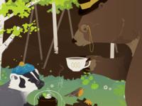 Tea with Badger & Bear