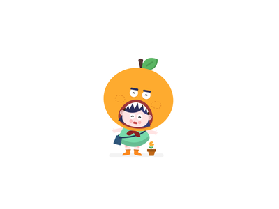 Be happy figmadesign figma modern design mascot character vector illustration simple cute