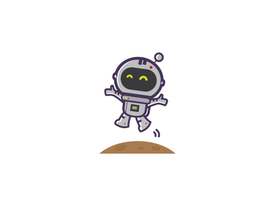 cuteastro star cute space planet moon logo illustration earth cosmos chat astronaut astro