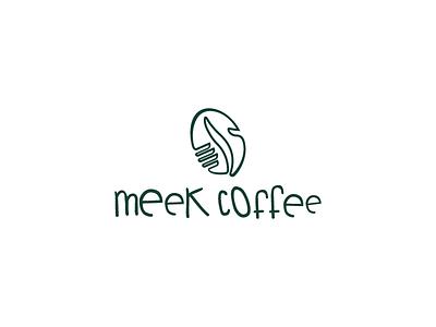 Meeklogo rebrand identity logo illustration gradient flat design color coffee brewery beverage artisan