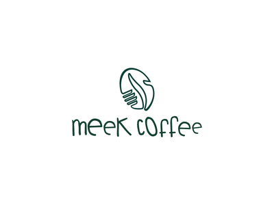Meeklogo rebrand identity logo illustration gradient flat design color coffee brewery beverage artisan