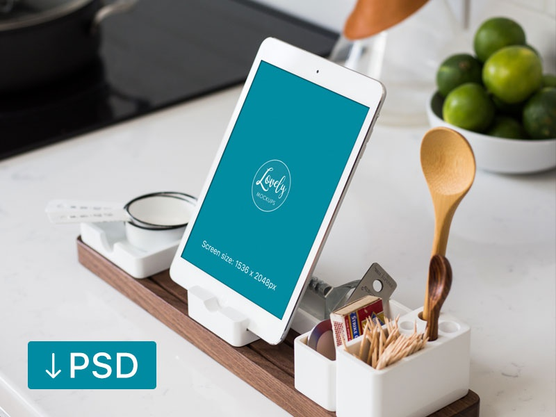 Download Ipad In The Kitchen (Freebie)