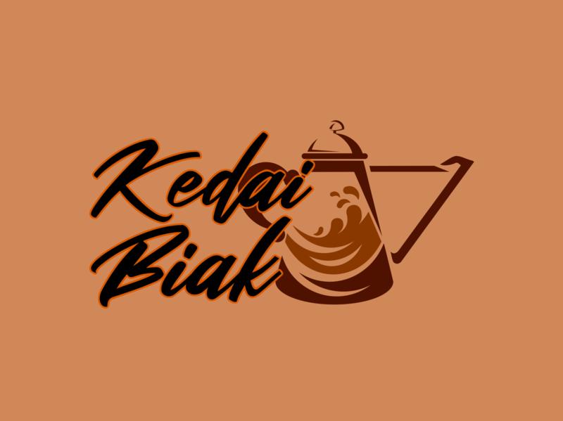Kedai Biak branding design illustration logo