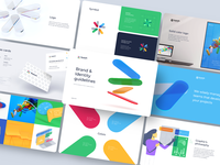 Brand Guidelines — Bunch Consulting web 3d illustration illustration typography graphic design colors brand book business card 3d guidelines design logo branding branding design identity design identity