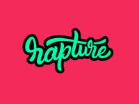 Rapture Lettering