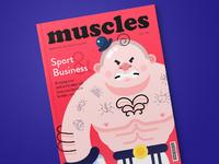 Tubik studio illustration magazine sport boldyriev denys 1