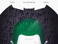 1 150dpi attachment joker dribble tubik studio poster jocker illustration comics