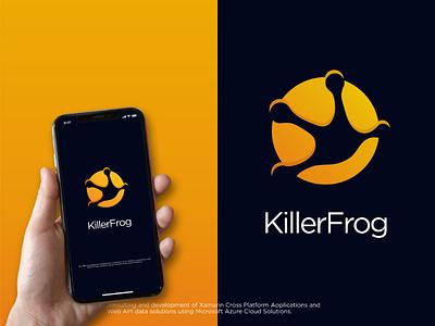 KillerFrog Logo identitydesigner pinterest inspiration premiumlogo simplelogo modernlogo modern handlettering graphicdesigner graphicdesign graphic brandidentitydesigner brandidentity identity branddesign logodesign logodesigner branddesigner logo brand