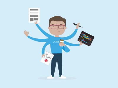 Multitasking developers