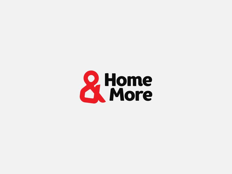 Home & More design logo design logotype logos logodesign logo