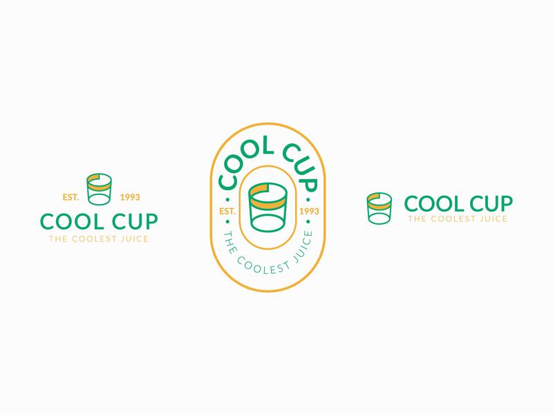 Cool Cup Logo Design branding logodesinger logodesigns logotype illustraion brand design logo designer logodesigner logo designs logo design branding logosketch logodesign logo design logos logo