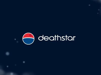 Deathstar Pepsi deathstar pepsi cola soda brand logo star wars for fun