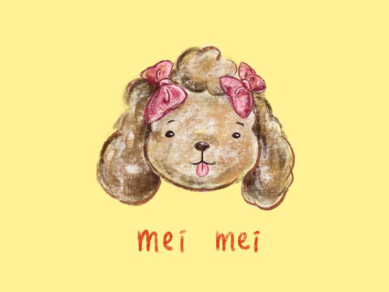 Mei Mei procreate illustration